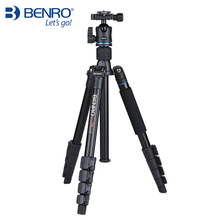Benro IT25 SLR מצלמה חצובה עבור SONY Canon ניקון גמיש אלומיניום סגסוגת חצובה נייד סוגר מקצועי חצובה ראש סט