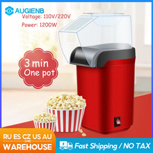 Popcorn-Maker Household Mini DIY Home Hot 1200W Gift Electric Kitchen Kids 110V Automatic