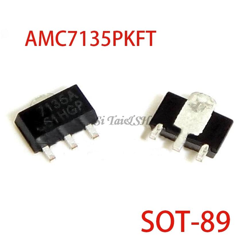 10pcs AMC7135PKFT SOT-89 AMC7135 MEL7135 SOT New And Original
