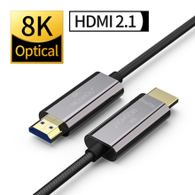 Optical HDMI Cables 2.1 8K Dolby Vision 60Hz 4K HDR 4:4:4 ARC 48Gbs Ultra HD (UHD) Audio Ethernet Cord Lossless MOSHOU amplifier