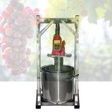 Presse-fruits manuel en acier inoxydable, pressoir à domicile, pour le vin et le raisin