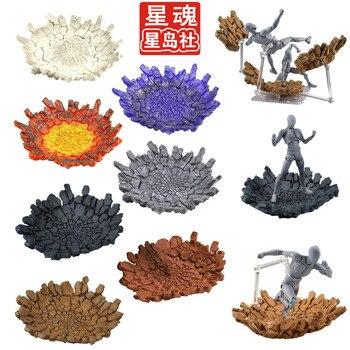 Tamashii Rock Impact Effect модель Kamen Rider SHF экшн-фигурка огненные сцены игрушки спецэффекты экшн-игрушки аксессуары