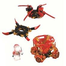 Spinjitzu 11152 11153 11154 Zane Kai Jay Cole Building Blocks Kit Bricks Classic Movie Ninja Model Kids Toys For Children Gift цена