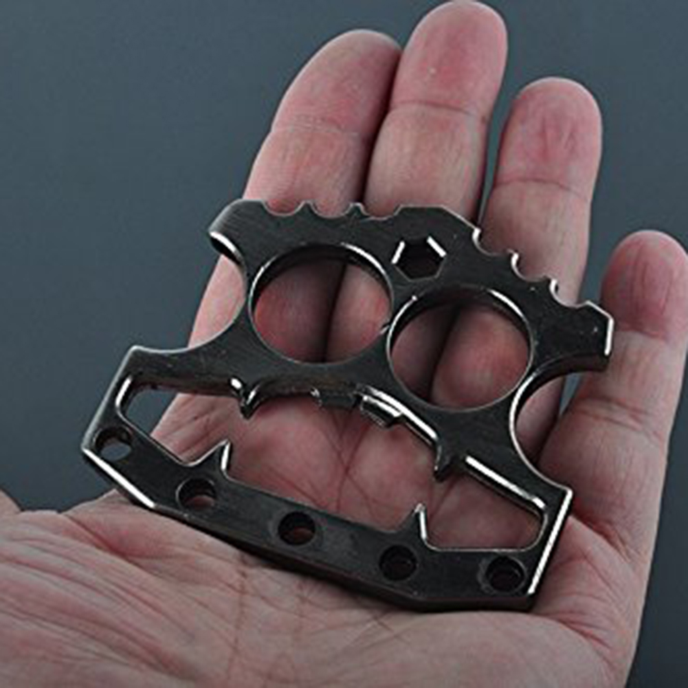 Stainless Steel Bottle Opener Double Finger Tools Multifunction Stainless Hex Key Mens EDC Self Defense Kitchen Bar Tool Glove