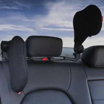 1 Set Unisex Auto Car Travel Head Rest Can Be Any Rotation Vehicle Head Car Sleep Side Pillow Cross-Border Vehicle Neck Pillow