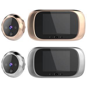 Image 4 - DD1 Màn Hình LCD 2.8 Inch Màn Hình Màu Kỹ Thuật Số Chuông Cửa Cảm Biến Chuyển Động Hồng Ngoại Chờ Lâu Kính Nhìn Xuyên Đêm HD Camera Ngoài Trời Chuông Cửa