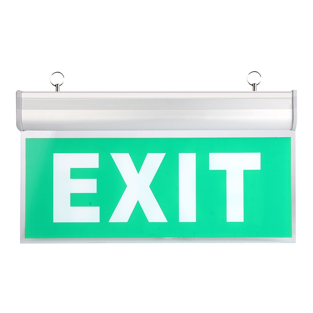 Left/Right/EXIT/ Acrylic LED Emergency Exit Lighting Sign Safety Evacuation Indicator Light 110-220V Hanging Led Exit