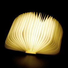 Creative Foldable Pages Folding Led Book Shape Night Light Lighting Lamp Portable Booklight Usb Rechargeable Table Book Light cheap SerRickDon Lava Lamp Heart Wood Fluorescent motion 90-260V Emergency 81-100W Night Lights Chinese Style