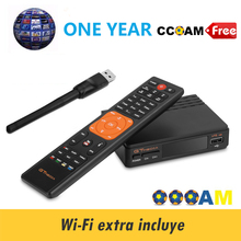 Gtmedia V7 HD built-in WIFI free 1 year 7 line CCCAM free sat v7 combo  satellite finder satellite receiver hd Portugal Channels