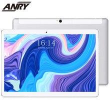 ANRY – tablette Android 1920 de 10 pouces, avec fonction d'appel téléphonique, 4G, 64 go de ROM, 4 go de RAM, caméra arrière 13mp, IPS 1200*8.1 Deca Core, double Sim, 10.1