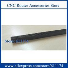 CNC прямая стойка шестерни и шестерни, Модуль 0,5 Размер 8*8 6*12 4*8 5*10 L-500mm стойки и шестерни