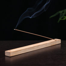 F Handmade Incense Burner Rosewood Copper Plate Scented Board Solid Wood Incense Holder for Indian Incense Sticks 1pc(China)