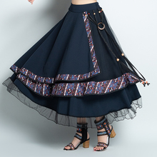 asymmetric designer skirts winter