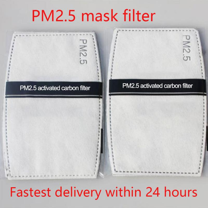 Fast Delivery 20/10pcs Disposable Filter Pad For Kids Adult Face Mouth Mask Respirator PM2.5 Suitable For N95 KN95 KF94 Mask