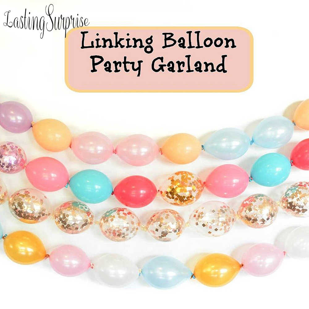 Gold Herz Bedruckte Ballons Weiß Schwarz Rosa Hochzeit Ballons Konfetti Ballons Baby Dusche Geburtstag Party Kinder Party Decor