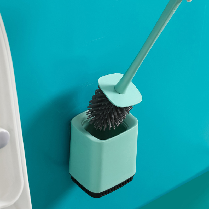Cleaning Brush Toilet Accessories Home Floor-standing Wall-mounted WC Bathroom Parts Sets Lavatory Cleaning Tool Cleaner Drawer