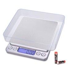 Mini balança eletrônica portátil, precisa, mini balança eletrônica, estojo de bolso, cozinha postal, joia, peso, gramas, display lcd