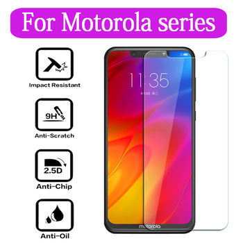 Tempered Glass For Motorola P30 Play Note One Power XT1941-4 XT1943-1 GLASS Protective Film Screen Protector Phone cover image