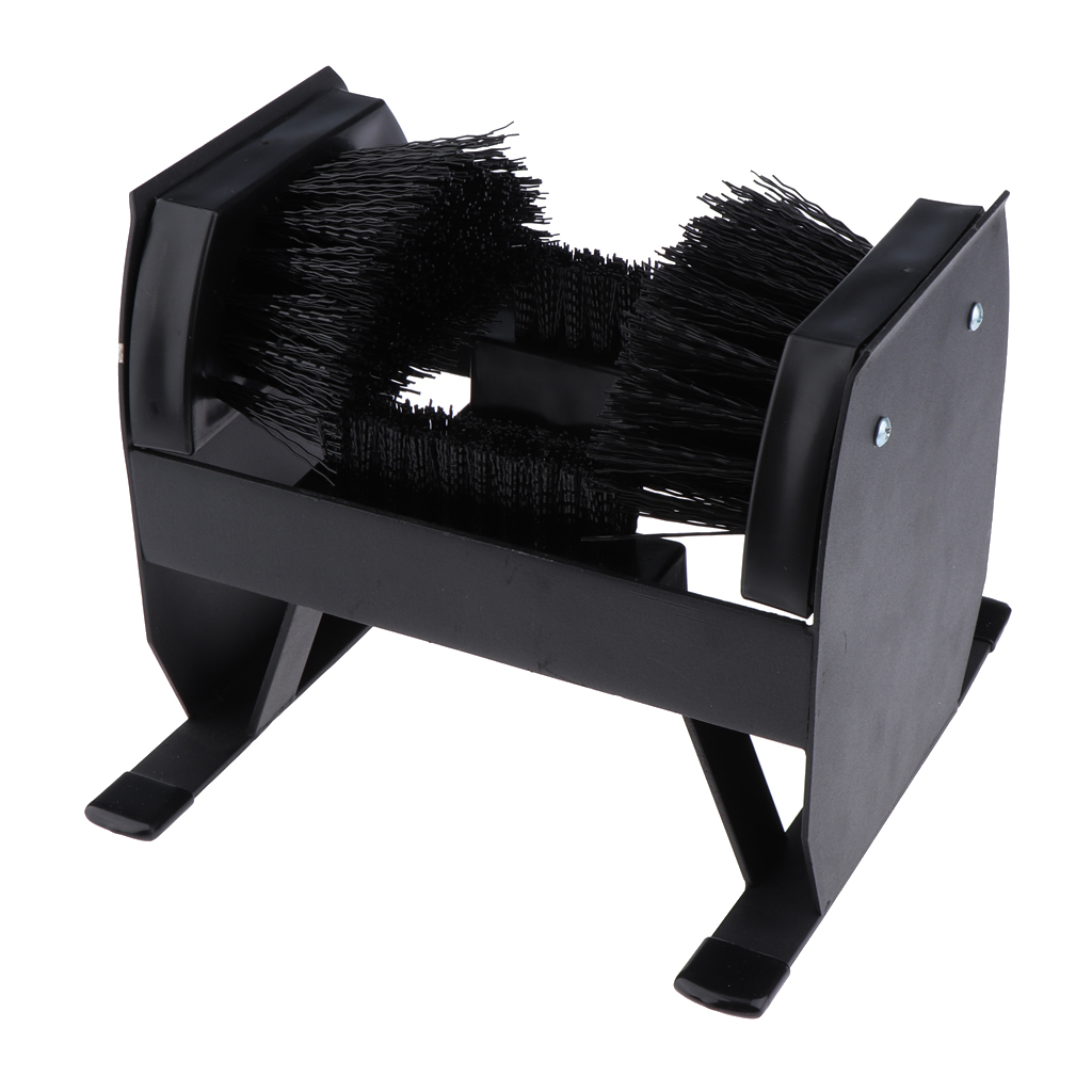 Boot Scraper, Shoe Scrubber- Outdoor Boot Brush for Commercial and Industrial Use