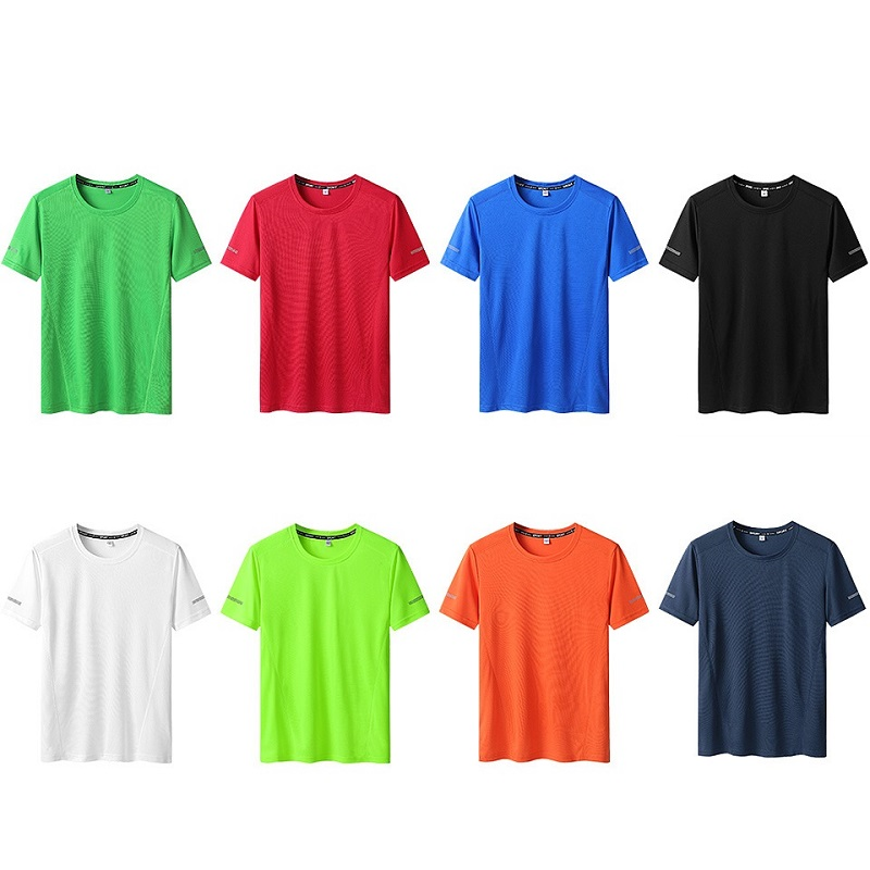 Men's Quick-Drying T-shirt Fattening Extra Large T-shirt Half-sleeve Loose T Shirt Fitness Casual Tshirt L-9XL For 150KG