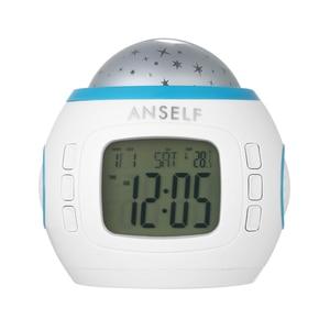 Image 5 - להתעורר אור שעון מעורר זריחה/שקיעה סימולציה דיגיטלי שעון עם רדיו FM 7 צבעים אור נשמע פונקצית מגע שליטה