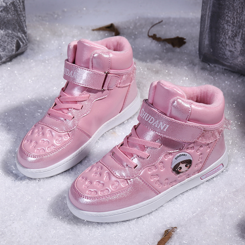 Autumn Winter Sneakers Girls Breathable Running Shoes Damping Sport Shoes Girls Outdoor Light Walking Trainer Zapatos De Mujer