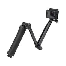 3 WAY Gripกันน้ำMonopod Selfie Stickขาตั้งกล้องสำหรับGoPro HERO 7 6 5 4 เซสชันสำหรับYi 4K SJCAM EkenสำหรับGo Proอุปกรณ์เสริม