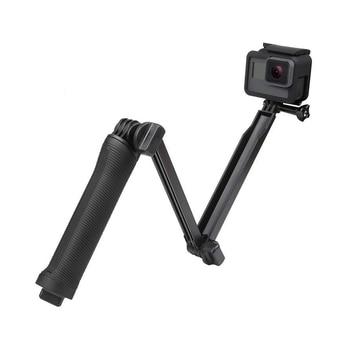 3 Way Grip Waterproof Monopod Selfie Stick Tripod Stand for GoPro Hero 7 6 5 4 Session for Yi 4K Sjcam Eken for Go Pro Accessory