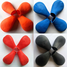 4PCs Pet Dog Shoes Waterproof for Puppy Boots Small Dogs Anti-slip Rain Cat Supplies S/M/L