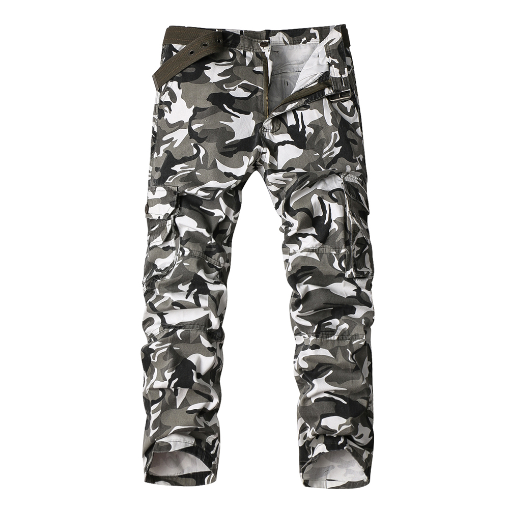 Army Tactical Pants Men Military Camouflage Pant Men Casual Camo Joggers Cargo Trousers Male Casual Trousers Sweatpants