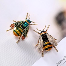 2 Colors Choose Rhinestone and Pearl Bee Brooches for Women Vintage Jewelry Fashion Insect Brooch Pin High Quality cindy xiang rhinestone large pin brooches for women vintgae sweater pin fashion design wedding brooch high quality new 2020