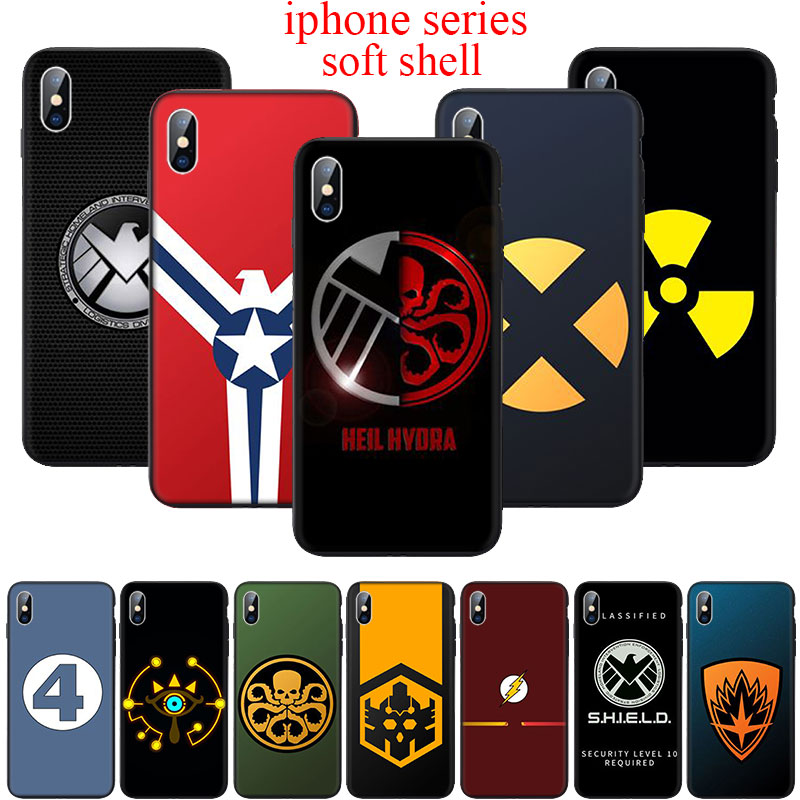 WEBBEDEPP guardians of the galaxy <font><b>logo</b></font> Soft Silicone <font><b>Case</b></font> for <font><b>iPhone</b></font> 6 <font><b>6S</b></font> 7 8 Plus 5 5S SE X XS 11 Pro MAX XR Cover image