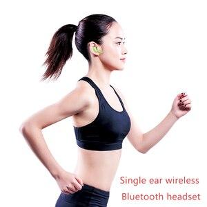 Image 3 - Nova luz de luxo i17 tws única orelha sem fio bluetooth mini fones de ouvido estéreo sem fio com microfone para iphone todos os smartphones
