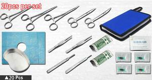 Image 3 - 7/12/15/20 unids/set herramientas de SUTURA QUIRÚRGICA DE 14cm, kit de herramientas de instrumentos de entrenamiento de operación para médicos/ciencias/estudiantes