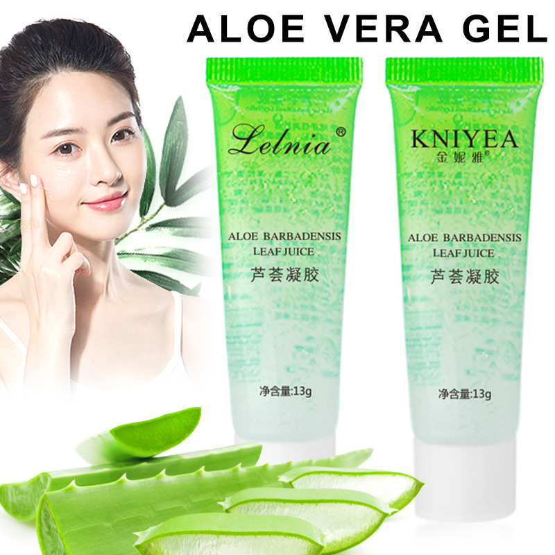 3Pcs Concentrated Aloe Gel Acne Cream Sleep Mask Moisturizing Jelly Facial Sheet Mask Skin Care Lotion For Women V9-Drop