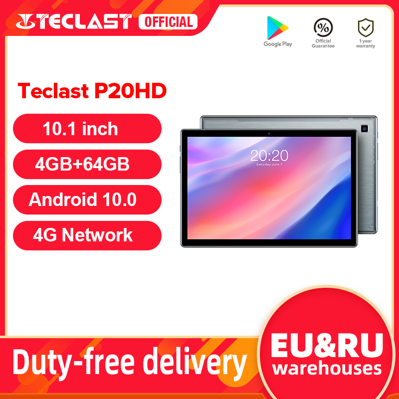 Tablet TECLAST P20HD 4G, 10.1