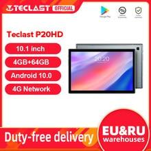 Teclast – Tablette PC de 10.1 pouces P20HD, IPS, Android 10, 1920x1200, 4 go de RAM, 64 go de ROM, SC9863A Octa Core, 4G LTE