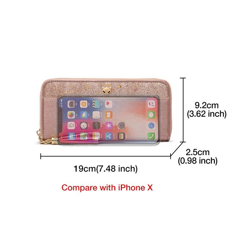 Glitter 8 cüzdan Iphone