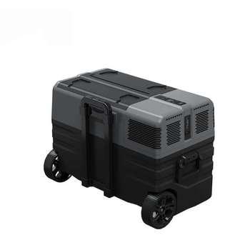 12V 24V AC 110 220V lodówka Caravan samochód kempingowy zamrażarka przenośna lodówka tanie i dobre opinie FLDJL 20kg 42cm 20L 0119 ROHS FCC UL CE 3C 12 v --20°--20 47cm 69cm 42L52L62L Lodówki