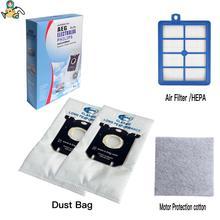 החלפת אבק שקיות עבור פיליפס S תיק H12 HEPA מסנני FC9150 FC9174 FC9010 FC9180 HR8310 שקית אבק שואב אבק חלקי