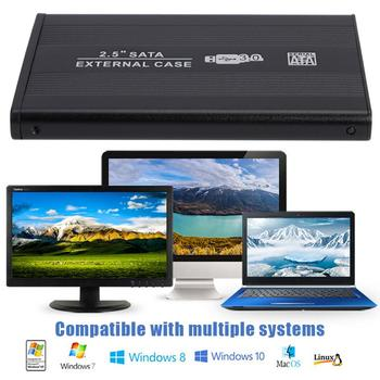 USB3.0 to SATA Hard Disk Case 2.5 inch SATA SSD Mechanical Disk Box Support 8TB External HDD Enclosure for Laptop PC