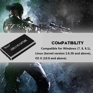 Image 5 - 1080P 60fps Full HD וידאו מקליט HDMI כדי USB 3.0 סוג C וידאו לכידת כרטיס מכשיר עבור Winodws Mac לינוקס הזרמה
