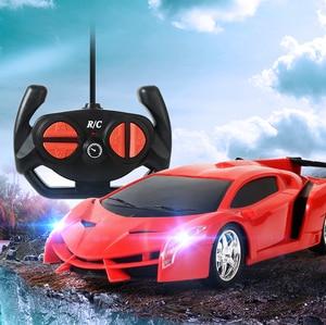 Remote control car 20cm RC Car Toy Sports Car 2.4G led Luxury Car toy Birthday Gifts for Boys Remote-controlled sports car toy