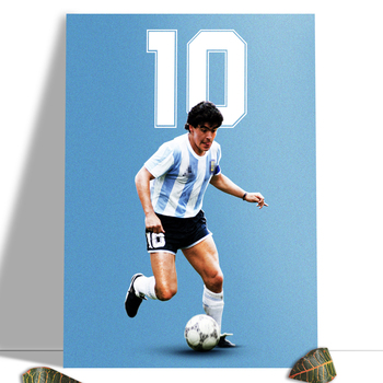Diego Maradona Football Poster Canvas Comics Printed sports Decoration Painting Home Wall Living Study Room Child Room Bedroom 13
