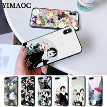 Noragami yato Anime Pattern Silicone Case for iPhone 5 5S 6 6S Plus 7 8 11 Pro X XS Max XR