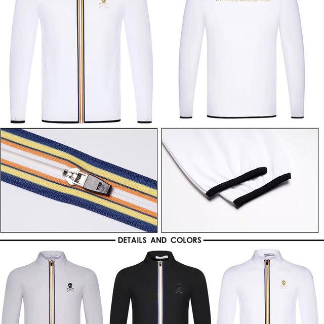 New Golf clothes autumn winter long sleeve Windshield Cotton Full Golf jacket