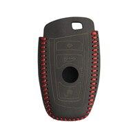 remote key Car key Cover for BMW 5 Series M1 GT F20 F10 F30 520 525 520I 530D E34 E46 E60 E90 Genuine leather Case Remote keybag keychain (5)