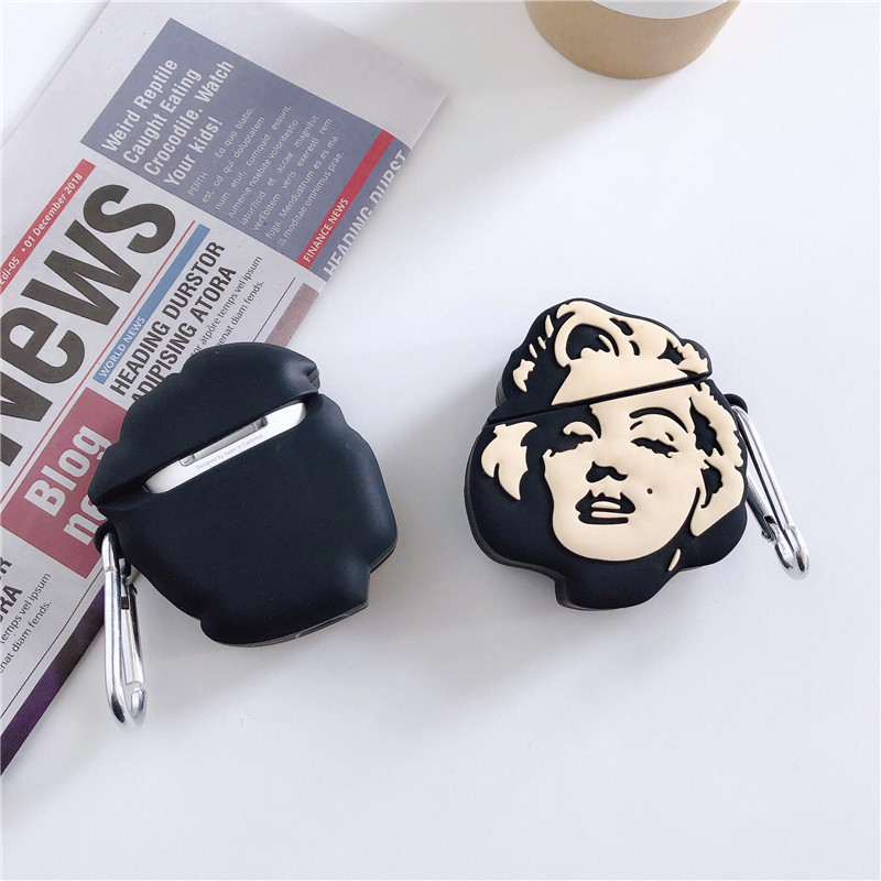 Marilyn Monroe AirPod Case 4