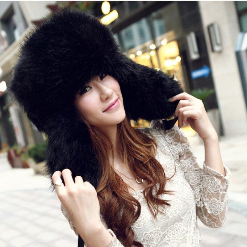 Купить осенне зимняя теплая шапка из супер меха для мужчин и женщин