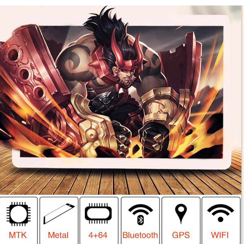 Hot Android 8.0 Google Play Tablet Octa Core 6GB RAM 16GB 64GB 128GB ROM 1280X800 IP Laptop Kids Tablets 10.1 Inch Tablet